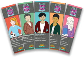 Barron's STEM Squad Bookmarks