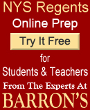 barrons nys regents prep